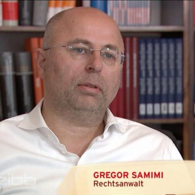 Gregor Samimi im rbb